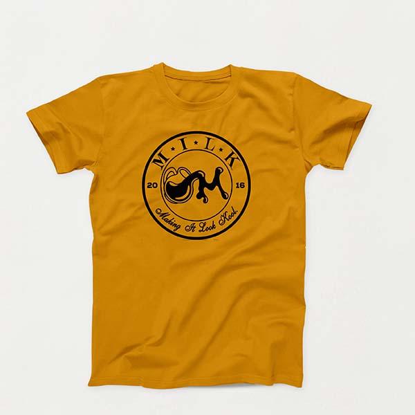 Crest B lg Gold shirt